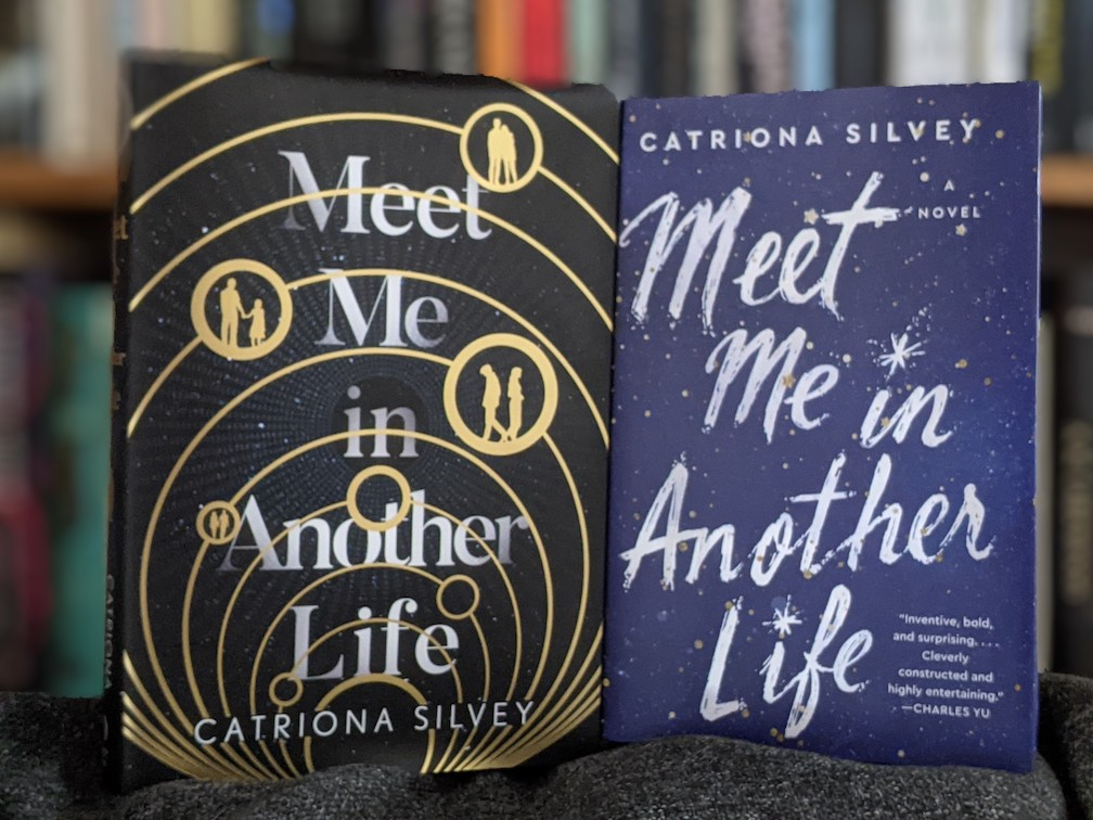 US and UK editions of Meet Me in Another Life